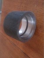 Обечайка 180\120 нарезная, гранулятора Б6-ДГВ