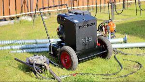 Оборудование для монтажа винтовых свай 57-159