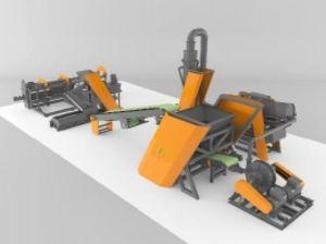 Оборудование для переработки шин в крошку Rostehno tire recycling APL-500.