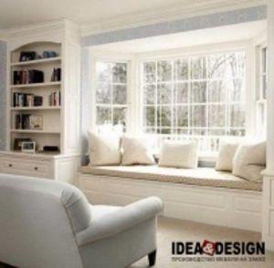 Окно-кровать, окно-диван, кровать на окне на заказ