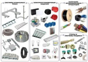 Оптовая продажа светодиодных систем, кабельной продукции и электротехнического оборудования