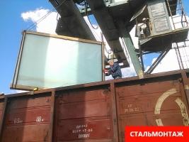 Отправка и прием вагонов на ж. д. станциях Крыма