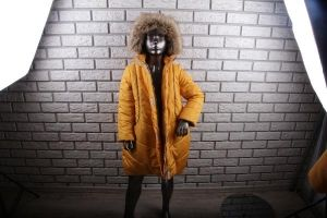 Пальто для девочки Space арт. 15.177 (одежда в стиле OVERSIZE)