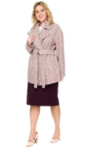 Пальто из вареной шерсти женское