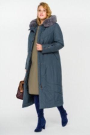 Пальто женское зимнее больших размеров
