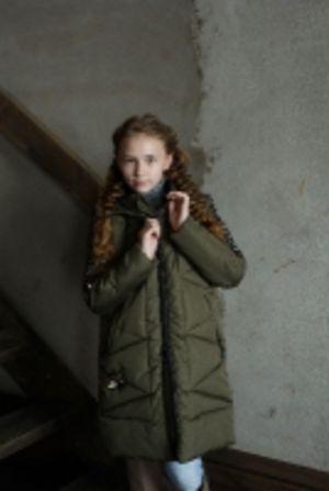 Парка подростковая Хлоя