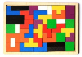 Пазл деревянный «TetrisWood»
