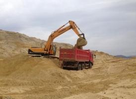 Песок строительный с доставкой в Пушкино