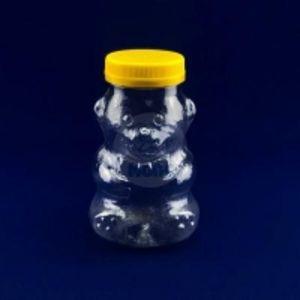 """ПЭТ банка для фасовки меда """"Мишка"""" 0,65л  полипропилен 1/50 код товара 20108-00022"""