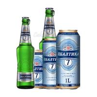 Пиво Балтика №7 Экспортное (стекло и ж/б 0,47л) ж/б 0,9л