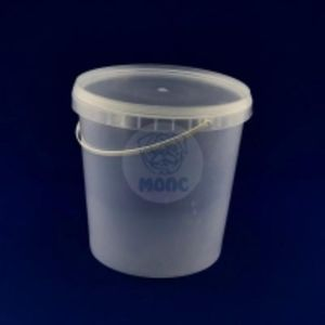 Пластиковое ведро 3л безцветное 1/50 код товара 20109-00018