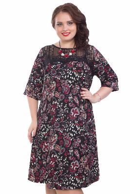 170a66377408dea Платье Wisell П4-3259/22 с 42 по 62 размер - купить, узнать цену ...