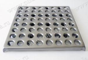 Плитка пола металлическая для промышленных полов.