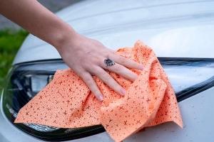 Полотенце для сушки автомобиля после мойки