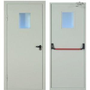 Противопожарные двери Люмина (ручка Антипаника-стекло) 52П-Н