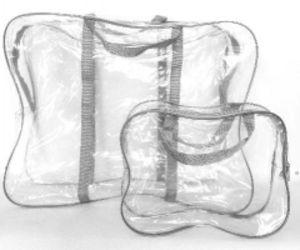Прозрачная сумка в роддом