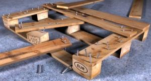 Ремонт деревянных поддонов