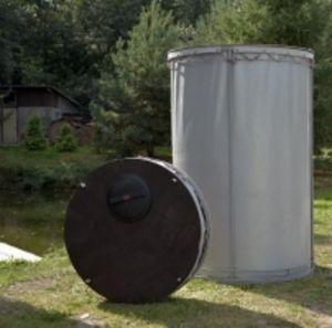 Резервуар разборный, вертикальный в защитном пенале (РРВ-2,15)