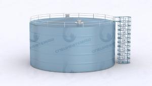 Резервуар вертикальный стальной РВС