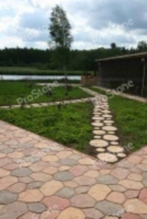 Садовая дорожка Пеньки