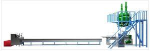 Самая дешёвая лилия оборудования для производство термоклей (цилиндрическая форма)