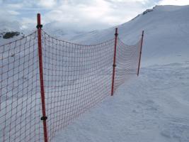 Сети защитные горнолыжные