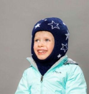 Шапка-шлем детский SMILE (SHELTER) для мальчика и для девочки от Selfiework