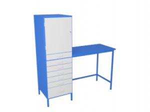 Шкаф для инструментов ШИ 2/600