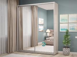 Шкаф-купе АЛЕФ двери ламинат и зеркало