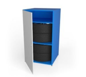 Шкаф металлический для хранения шин ШМ-2