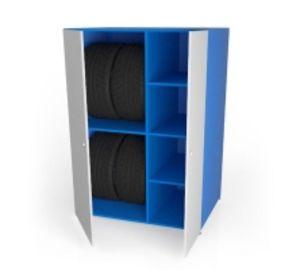 Шкаф металлический для шин ШМ-7