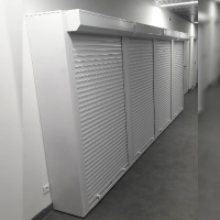 Шкаф металлический с рольставнями 1000х400х2000мм