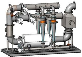 Система управления балластными водами BSKY1200