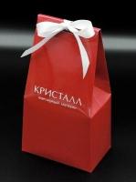 """Сладкие новогодние сувениры — конфеты-трюфели в упаковке """"мешочек"""""""