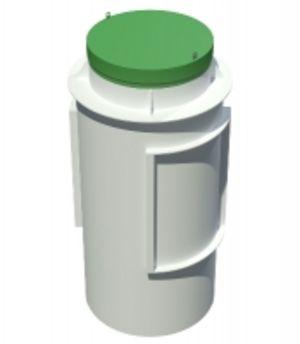 Современный автономный септик Тополь 6 ПР