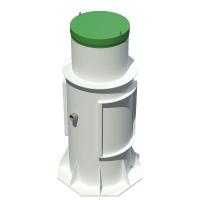 Современный септик Тополь 6 Плюс с удлинённой горловиной