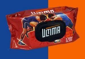 Спортивные влажные салфетки ULTIMA