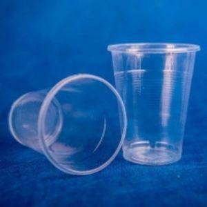 стаканчик одноразовый 200 мл прозрачный Эконом 100/4200 код товара 11003