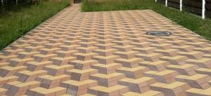 Стоимость укладки тротуарной плитки на даче