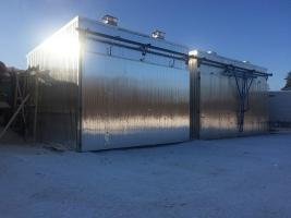 Сушильные камеры от производителя от 25 до 200 куб.метров