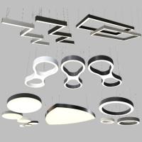 Светодиодные светильники разных форм