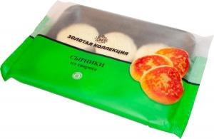 Сырники из творога (творожный полуфабрикант замороженный). Масса нетто: 300 гр.