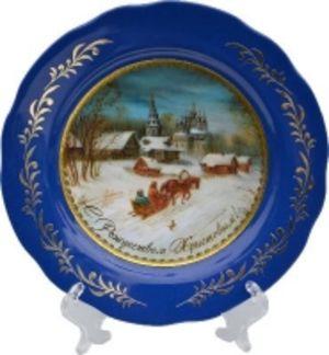 """Тарелка декоративная """"Рождество"""""""
