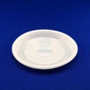 Тарелка одноразовая десертная D165 белая 100/2400 код товара 13002