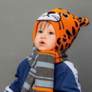 ТМ Selfiework зимние шапки с утеплителем SHELTER для мальчиков и девочек