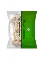 ТМ-Золотая коллекция: Пельмени «Кураж». (Мясной полуфабрикат в тесте. Категория «Г». Замороженный. Не содержит ГМО). Масса нетто: 500 г
