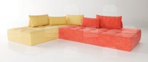 Угловой модульный диван Тетрис JUCY (МДЯ+МД)