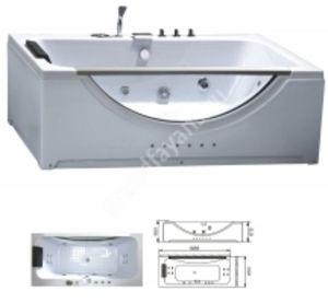 Ванна гидромассажная 1688*850*650 с насосом KS-AM-812 с переливом
