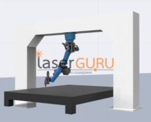 Оптоволоконный 3d робот для резки металлов SEKIRUS P0306M-1800