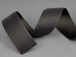 Застежка текстильная, петля/крючок, 45 мм, полиэфирная 100%